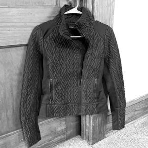 SALE! Cynthia Rowley Quilted Neoprene Moto Jacket